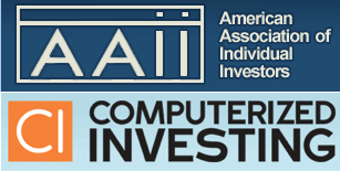 May 23, 2016: AAII Article And Some Web Changes